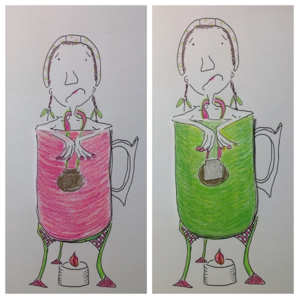Mug colour red or green?